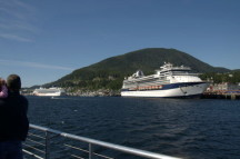 Terry's photo of the cruise ships