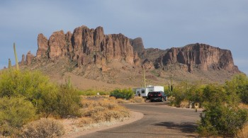 Superstition Mountains —2:00 p.m.