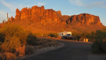 Superstition Mountains—7:00 p.m.